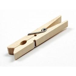 Mollette in legno set da 36pz